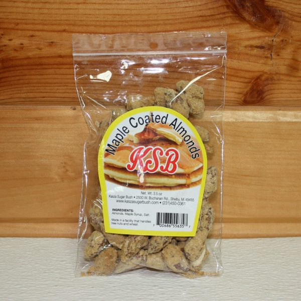 Maple Coated Almonds for Sale