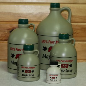 Our selection of Maple Syrup in Plastic Jugs